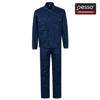 Darbo kostiumas PESSO DK2KTM pasiūtas iš ypač stipraus 100% medvilninio tvilo.