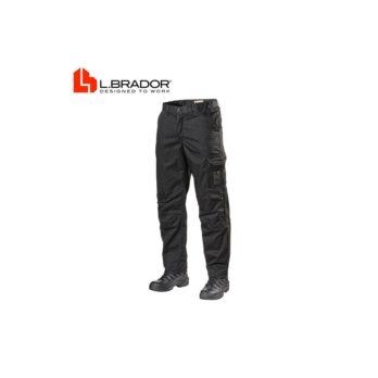 Darbo kelnės L.Brador 158PB, juodos