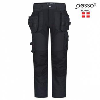 Darbo kelnės Pesso TITAN Flexpro 125, tamsiai pilka