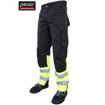 Darbo kelnės Pesso HI-VIS iš itin tvirto Canvas audinio KDCJG