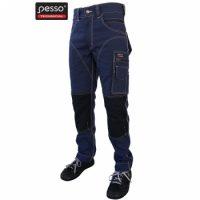 Darbo kelnės Pesso iš itin tvirto Canvas audinio, mėlynos | KDCM