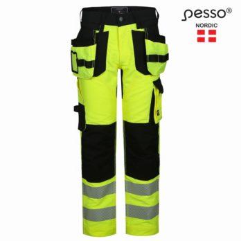 Darbo kelnės Pesso URANUS Flexpro 135,  HI-VIS geltona