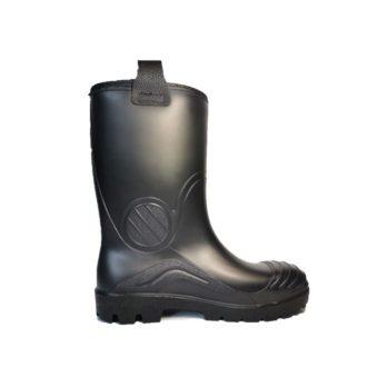 zApsauginiai auliniai PVC darbo batai  su pirštų ir pado apsauga S5 SRC | 141P