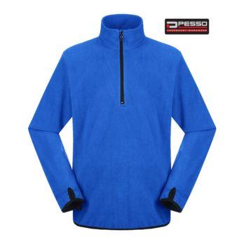 Fleece audinio džemperis FL200M Pesso THIN Fleece, mėlynas
