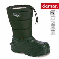 Guminiai batai su išimamu natūralios vilnos pamušalu Demar YETTI Classic A
