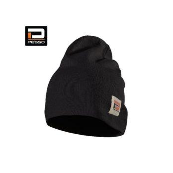 KANSASJ-Megzta kepurė Pesso Kansas, juoda