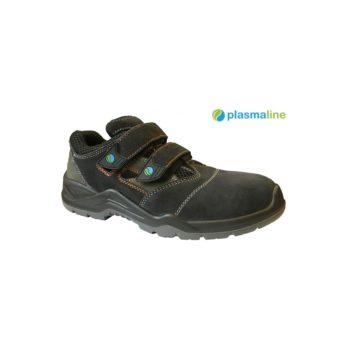 PREMIUM klasės odiniai pusbačiai  Plasmaline Baltimore S1P SRC / Plastic+Kevlar