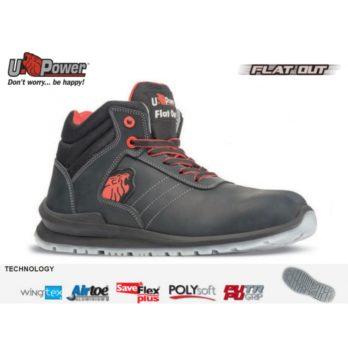 Sportinio stiliaus darbo batai WALTER S3 SRC  U-Power Naujausia FLAT OUT kolekcija