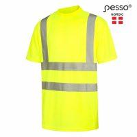 Marškinėliai Pesso HI-VIS HVMG,geltoni