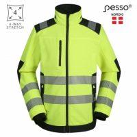 Darbo švarkas Pesso Titan 125, geltonas