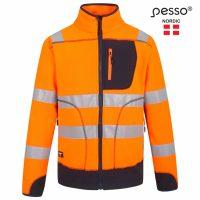 Džemperis Pesso Fleece, oranžinis