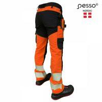 Darbo kelnės Pesso URANUS Flexpro, oranžinės